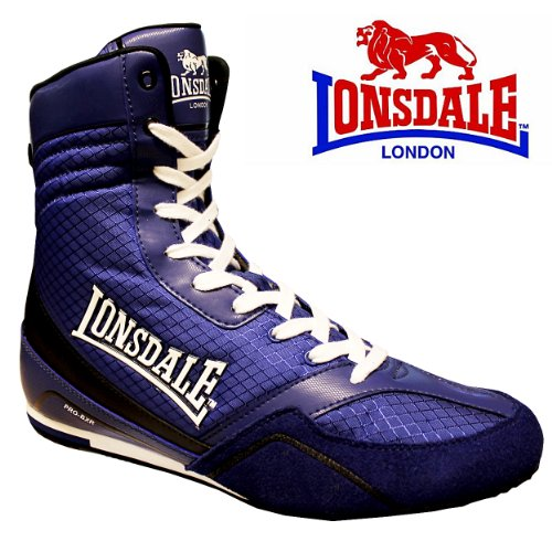 Lonsdale Quick Pro-BXR Blue Boxing Boots Kids & Adults