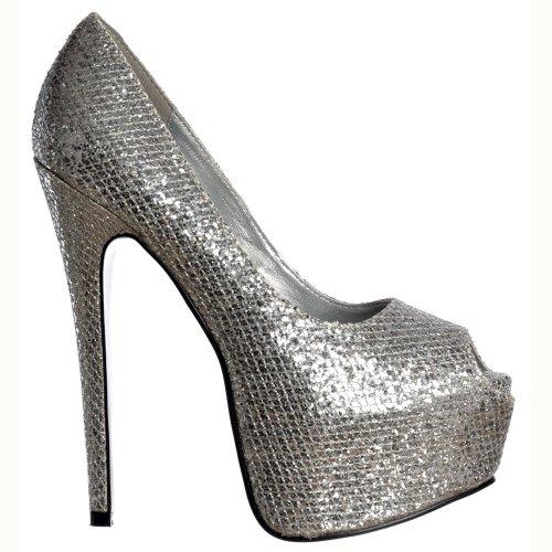 brillo-de-onlineshoe-las-mujeres-peep-toe-estilete-ocultas-plataforma-zapatos-de-tacan-alto-plata-uk