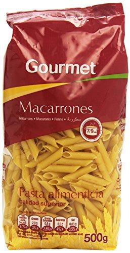 Gourmet Macarrones, Pasta Alimenticia - 500 g