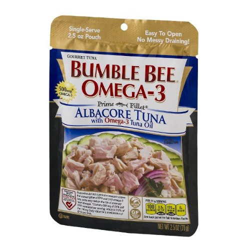 Bumble Bee Albacore Tuna With Omega-3 Tuna Oil, 2.5 Oz