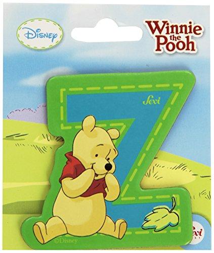 Sevi 82784 Klebebuchstabe Z Winnie the Pooh