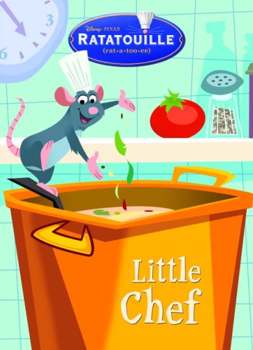 Little Chef (Deluxe Coloring Book) (Ratatouille Movie Tie In)