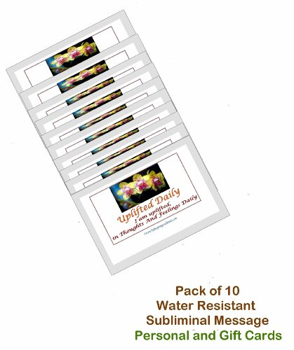 uplifted-on-a-daily-basis-pack-of-10-water-resistant-personal-or-gift-card-set-pocket-wallet-size-ea