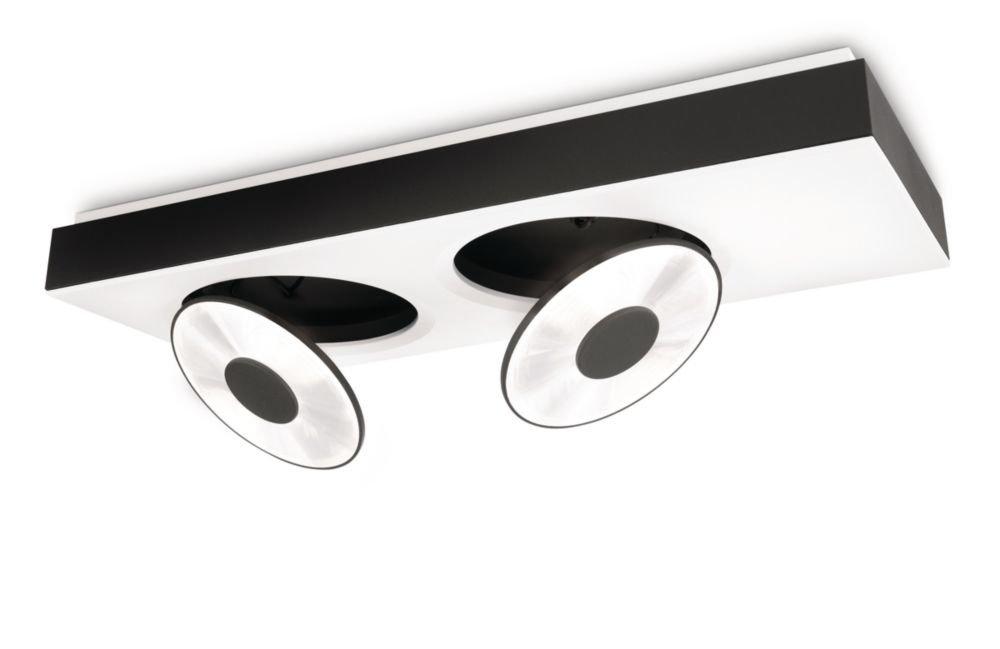 Philips Lirio LED Deckenspot Circulis 2-flammig Aluminium 13 W Weiß 579373116