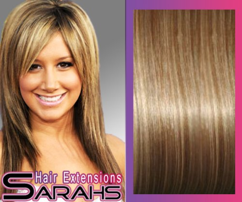 blonde hair extension styles. 22 inch DIY Clip in Human Hair