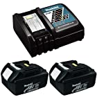 Makita (1) DC18RC Charger & (2) BL1830 Batteries NEW
