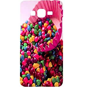 Casotec Colourful Candy Design Hard Back Case Cover for Samsung Galaxy Grand Prime G530