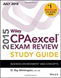 img - for Wiley CPAexcel Exam Review 2015 Study Guide July: Business Environment and Concepts (Wiley Cpa Exam Review) book / textbook / text book