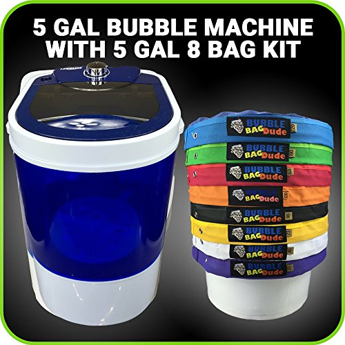 Bubble Machine 5 Gallon 8 Bag Ice Bubble Bags Mixing Kit - 5 Gallon Portable Mini Bubble Washing Machine- Herbal Extractor (Vaporizer For Oils Wax And Herbs compare prices)