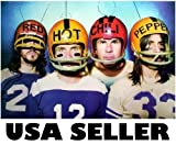 Red Hot Chili Peppers Football Helmets Poster 34 X 23.5 With Antennae Goofy Rhcp (Sent From Usa In Pvc Pipe)