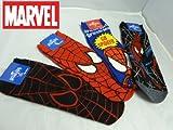 marvel スパイダーマン 靴下4種類セット くるぶしタイプ 25㎝~27㎝前後