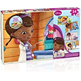 Cardinal Industries Doc McStuffins 4 Wood Puzzle
