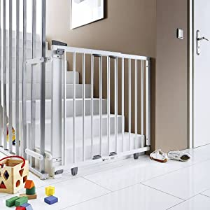 geuther 2733 we schwenk treppengitter. Black Bedroom Furniture Sets. Home Design Ideas