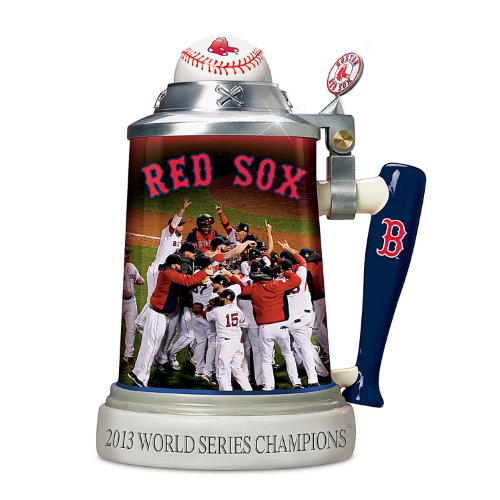 Boston Red Sox 2013 World Series Champions Stoneware Stein by The Bradford Exchange