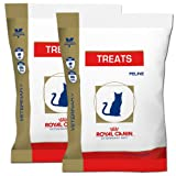 New Larger Packaging! Royal Canin Feline Cat Treats 2 Pack (2/4.4 oz Packages)