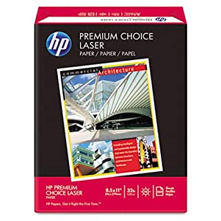 HP 11310-0 HP Premium Choice Laserjet Paper, White, 32-lb., 8-1/2