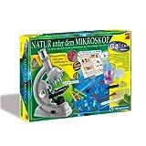 Clementoni 69804 - Natur unter dem Mikroskop, Galileo Experimentierkasten title=