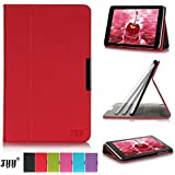 Lenovo Idea Tab A8-50 (2014) Case Cover, FYY® Slim Fit Folio Stand Leather Case Cover for Lenovo Idea Tab A8-50 8 Inch(2014 Version) Red (NOT FIT Lenovo Tab 2 A8-50F)