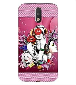ifasho fashion Girls Back Case Cover for Motorola Moto G4
