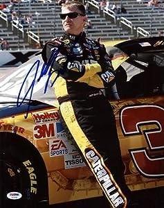 Autographed Burton Picture - 11x14 #u23585 - PSA DNA Certified - Autographed NASCAR... by Sports Memorabilia