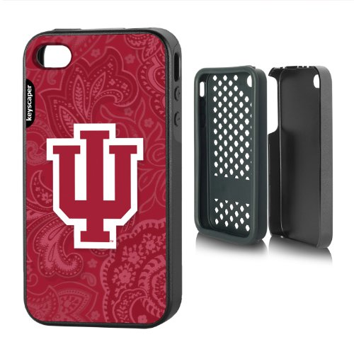 Indiana Hoosiers Iphone 4/4S Rugged Case Paisley Ncaa