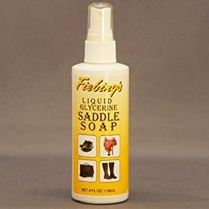 Fiebing's Liquid Glycerine Saddle Soap 4oz Pump