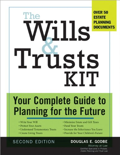 The Wills and Trusts Kit, 2e: Your Complete Guide to Planning for the Future (Wills, Estate Planning and Trusts Legal Kit)