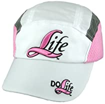 DO LIFE - a Pro Life, anti abortion, positive symbol Sports Cap 3 embroideries