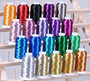 Amazon New ThreadNanny 20 METALLIC CONES EMBROIDERY