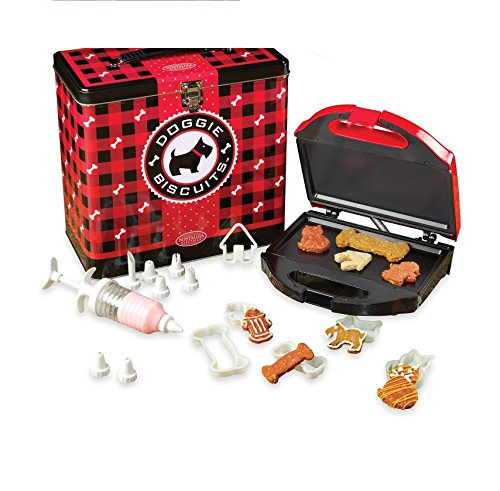 Nostalgia Electrics Doggie Biscuit Treat Maker Kit