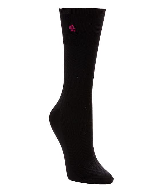 Chevron Textured Trouser Socks