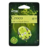 TDK Croco Design Glow in the Dark 4GB USB 2.0 Flash Drive