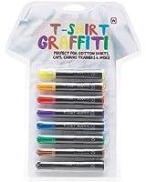 T-Shirt Graffiti Pens - 8 Permanent Fabric Markers