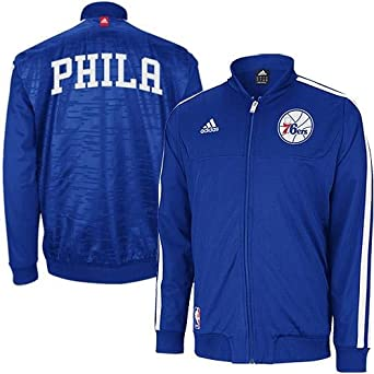 Philadelphia 76ers Adidas Home Weekend 2012-2013 Authentic On-court Jacket - Royal... by adidas