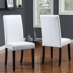 Modus Furniture 2EA466 Urban Seating Parsons ChairSet Dining