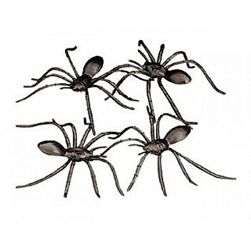 fake spiders - great for adult Halloween party