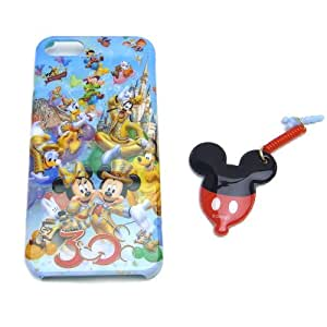 [Tokyo Disney Resort 30th Anniversary] Mickey Mouse & Minnie Mouse iPhone case [correspondence] iPhone5 mobile phone cleaner with The Happiness Year Disney (japan import)