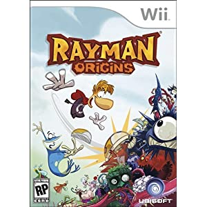 Rayman Origins Video Game for Nintendo Wii