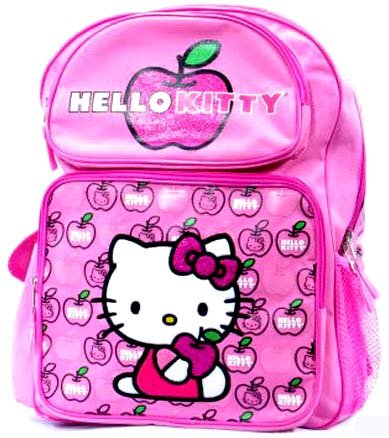 Hello Kitty Apple Large 16″ Backpack