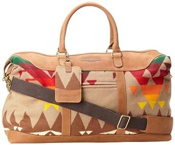 Pendleton Men's Weekender Bag, Tan, One Size