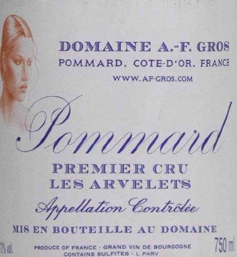 2006 Domaine A.-F. Gros Pommard Les Arvelets Burgundy Pinot Noir 750 Ml