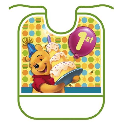 Pooh'S 1St Birthday Bib front-506189