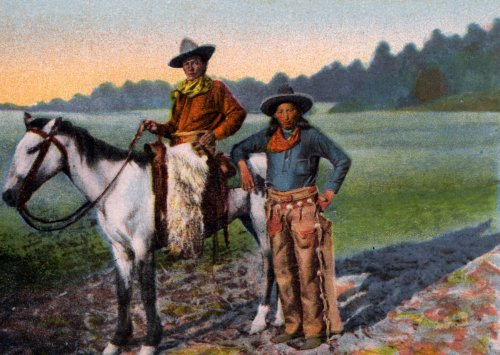 Two Southwest Cowboys - Fine-Art Gicl??e Photographic