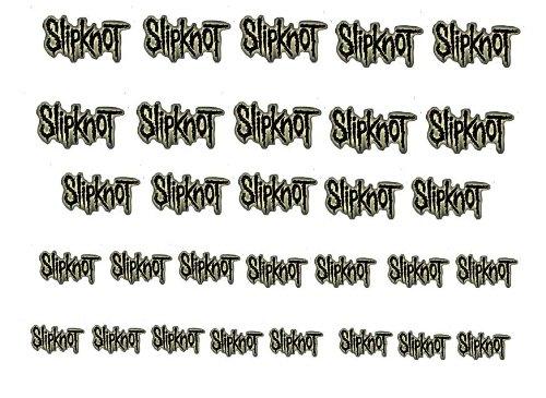 Facile a utiliser d'art d'ongle transfert autocollants Slipknot