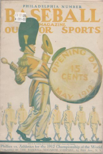 1912 May Baseball Magazine Phillies vs. Atheletics World Championship at Amazon.com