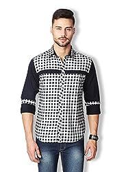 Rodid Men's Checkered Casual Shirt