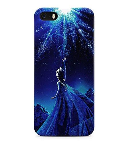 Frozen Princess Elsa Hard Plastic Snap On Back Case Cover For iPhone 5 / 5s Custodia