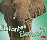 img - for Elefantes/Elephants (Animales Africanos/African Animals) (Spanish Edition) Bilingual edition by Meltzer Kleinhenz, Sydnie published by Pebble Plus (2009) [Hardcover] book / textbook / text book