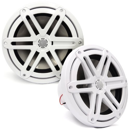 "Mx770-Ccx-Sg-Wh - Jl Audio 7.7"" 2-Way Marine Cockpit Coaxial Mx Series Speakers (White)"