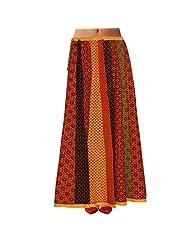 Sttoffa Womens Cotton Skirts -Multi-Colour -Free Size - B00MJO7CEC